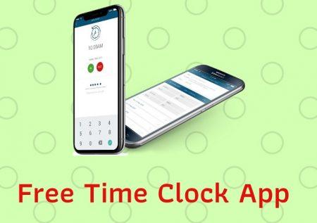 Free Time Clock App